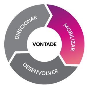 Infográfico de funções de liderança da consultoria VTH Treinamento