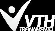 Logotipo branco VTH Treinamento